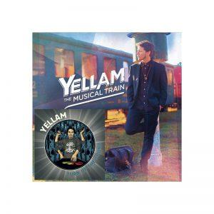 CD Yellam - Musical Train+Turn Up The Sound