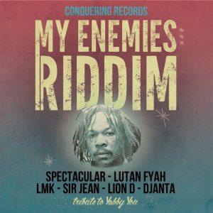 "LP 45"" - Spectacular / Sir Jean - My Enemies Riddim"