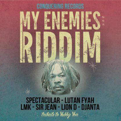 """LP 45"""" - Lutan Fyah / Djanta - My Enemies Riddim"""